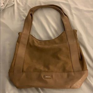 Relic tan shoulder bag